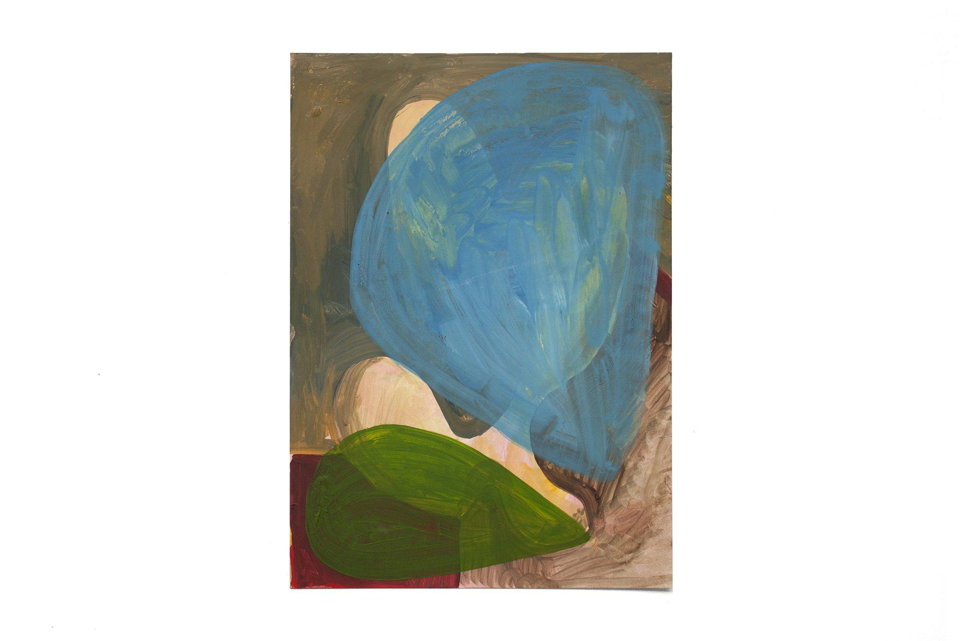 S/ título, óleo s/ papel, 29,7x21 cm, 2020